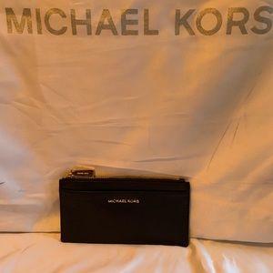 Michael Kors slim wallet black